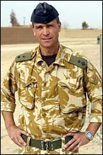 Colonel Henry Worsley MBE (RGJ-RIFLES) Commander of the first British Military intervention in Afghanistan in 2001 called Op VERITAS.